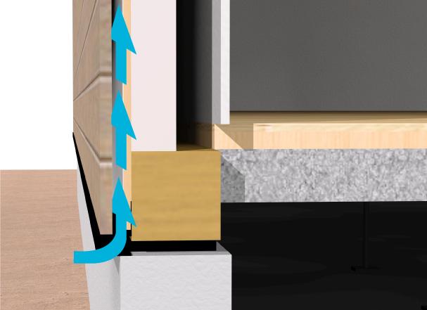 壁体内結露から守る外壁通気工法