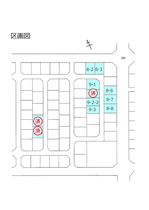 射水市赤田一条南分譲地【79区画】