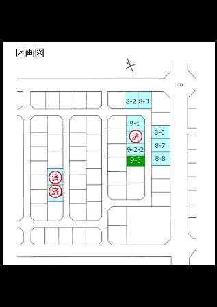射水市赤田一条南9-3区画図