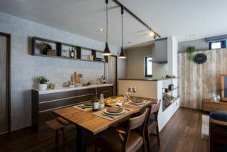 スタイリッシュヴィンテージの家 施工実例 |富山・石川の新築・注文住宅ならオダケホーム