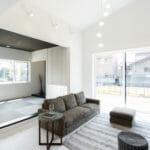 モノトーンインテリアでまとめた家|富山・石川の新築・注文住宅ならオダケホーム
