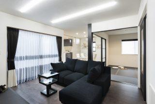リビング空間をシーンに合わせて変えられる家|富山・石川の新築・注文住宅ならオダケホーム
