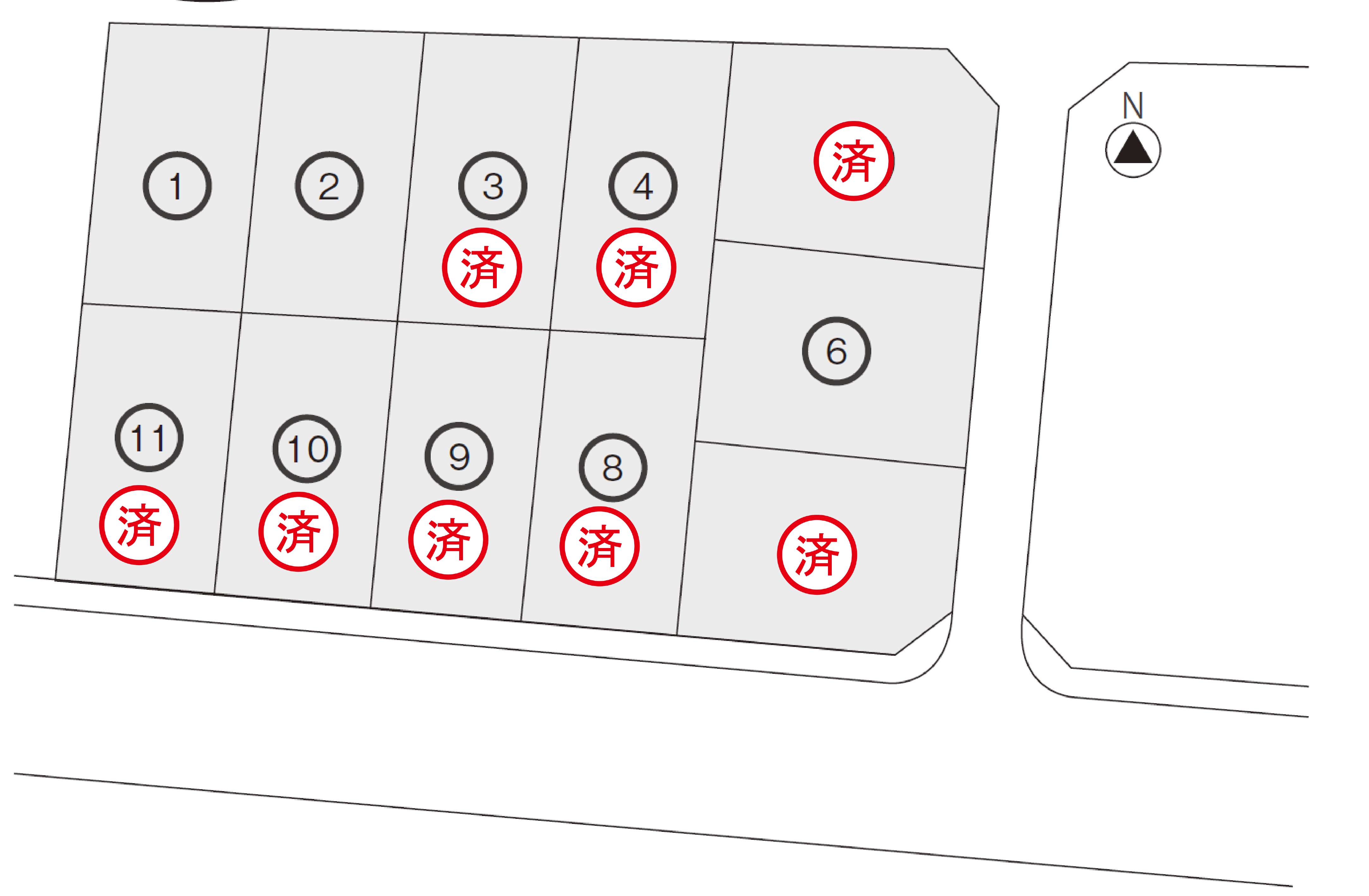 高尾台区画図