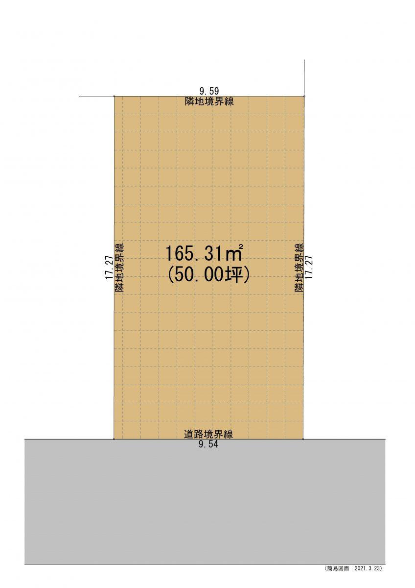高岡市城東区画図