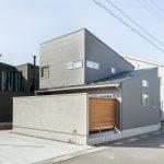 真似したいシンプルグレーとレッドシダーの外観|富山・石川の新築・注文住宅ならオダケホーム