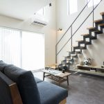 吹抜けリビング&稲妻階段のある家 富山・石川の新築・注文住宅ならオダケホーム
