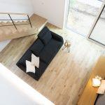 吹抜けリビングがある洗練されたデザインの家 富山・石川の新築・注文住宅ならオダケホーム