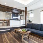 ピットリビングがある大人かっこいい家 富山・石川の新築・注文住宅ならオダケホーム
